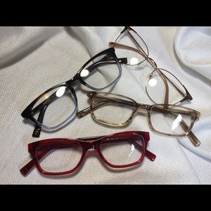 Accessories - Trendy Clear Lenses Fashion Glasses
